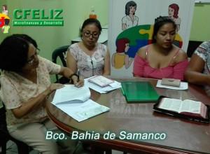 Inauguración Bco Bahia de Samanco