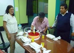 Cumpleaños con el administrado